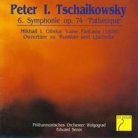 "Tschaikowsky: Symphonie Nr. 6 op. 74 ""Pathétique"" - Glinka: Valse-Fantaisie (1856) – Ruslan und Ludmilla, op. 5: Ouvertüre"