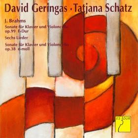 David Geringas, Cello und Tatjana Schatz, Klavier spielen Brahms