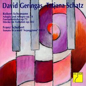 David Geringas, Cello und Tatjana Schatz, Klavier spielen Schumann und Schubert