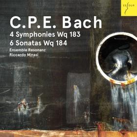 C. P. E. Bach: 4 Symphonies Wq 183, 6 Sonatas Wq 184