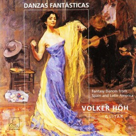 Danzas Fantásticas - Fantasy Dances from Spain and Latin America for Guitar solo