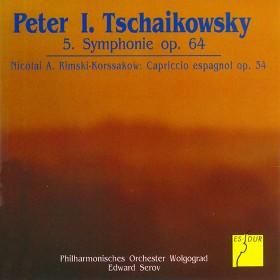 Tschaikowsky: Symphonie Nr. 5 op. 64 - Rimsky-Korsakov: Capriccio espagñol op. 34