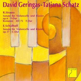 David Geringas, Cello und Tatjana Schatz, Klavier spielen Strauss und Schulhoff