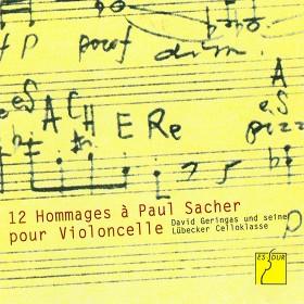 Douze Hommages à Paul Sacher pour Violoncelle