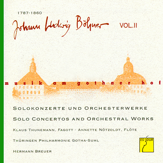 Musik am Gothaer Hof: Johann Ludwig Böhner II   C2 Hamburg. Musik ...